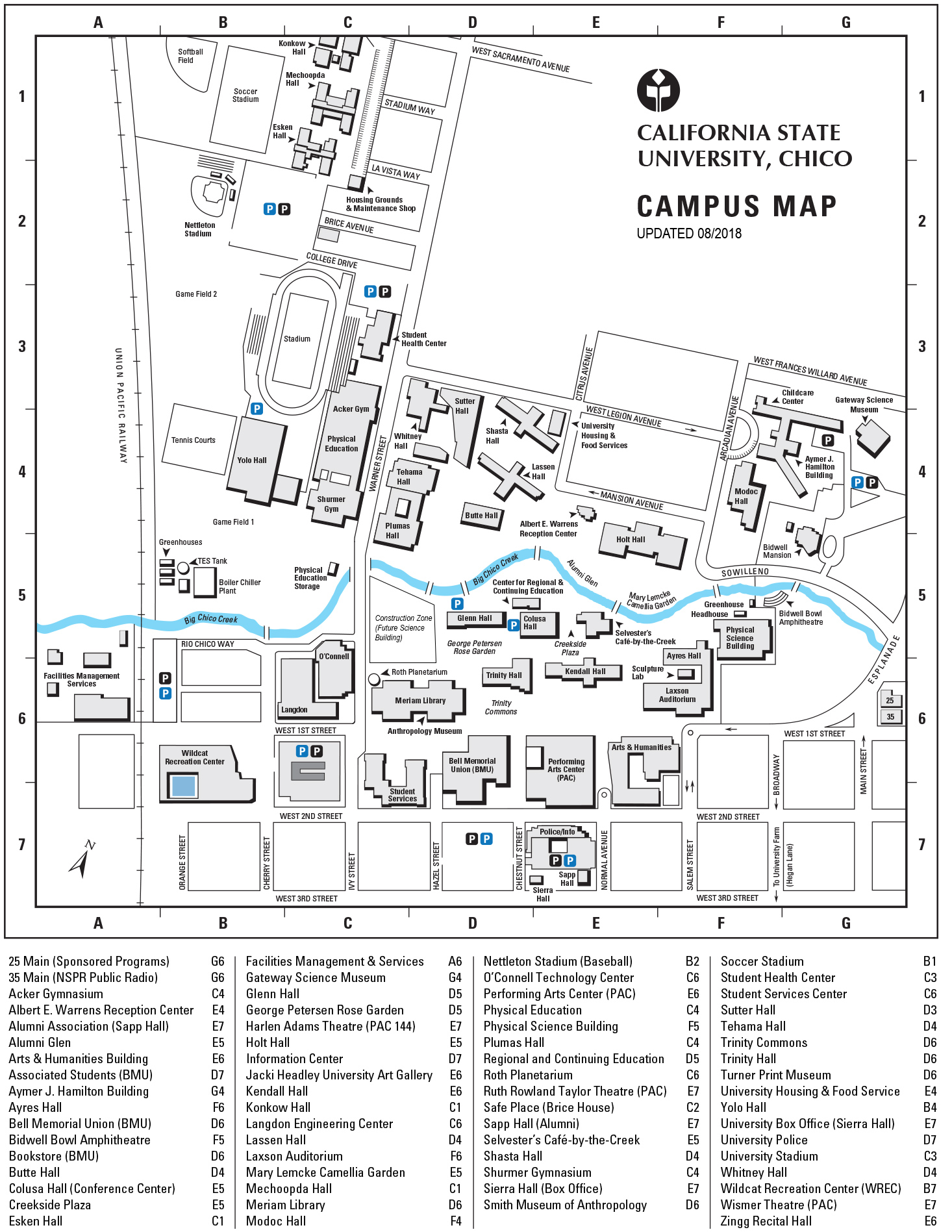 Directions - California State University, Chico - CSU, Chico on long beach csulb campus map, texas a&m-kingsville campus map, western state campus map, new haven campus map, tea towels california map, cal state fullerton housing map, northwestern state university campus map, california institute of technology campus map, lenoir-rhyne campus map, cal state los angeles map, cal state channel islands campus map, cal state east bay campus map, cal state dominguez hills location, cal state stanislaus campus map, va long beach campus map, california state university campus map, grambling state university on map, long beach university campus map, cal state san diego campus, csula map,