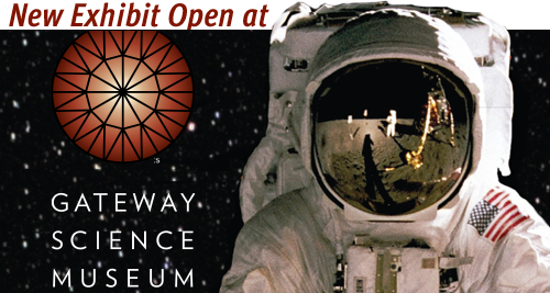 Before and Beyond the Moon exhibit now open at the Gateway Science Museum.