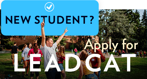 New Student? Apply for Leadcat at Chico State by August 9th!