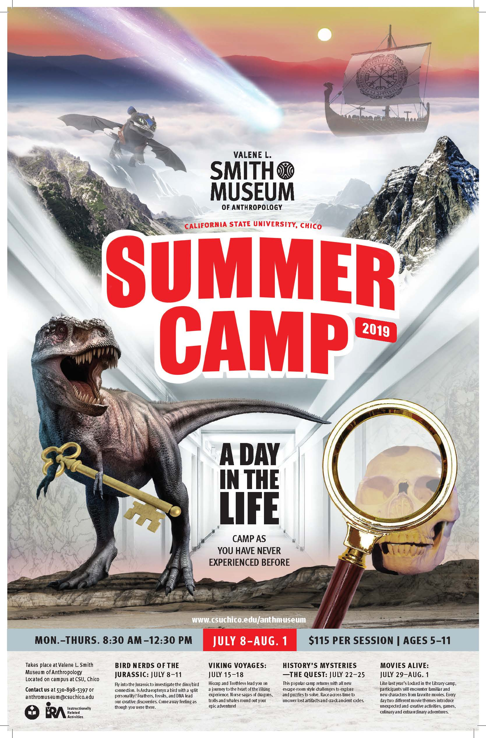 Summer Camp 2019 Movies Alive Valene L Smith Museum Of Anthropology Csu Chico