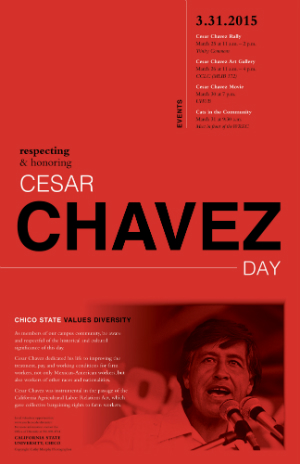 Cesar Chavez 2015 poster