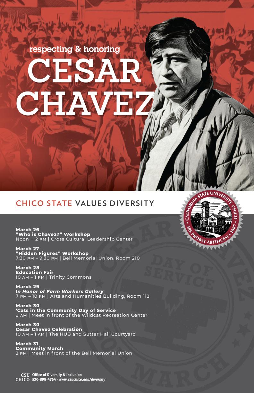 Cesar Chavez 2018 poster