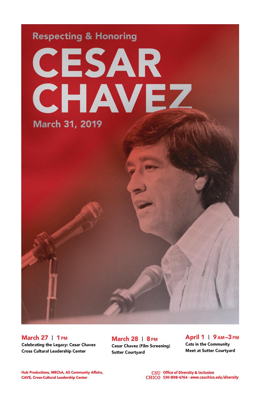 Cesar Chavez 2019 poster events