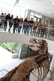 ETS students touring UC, Berkeley