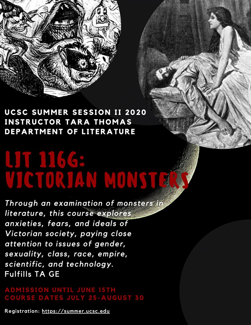 UCSC Victorian Monsters course