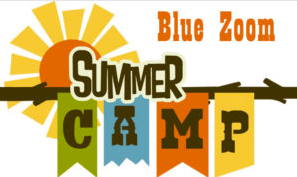 Blue Room Theatre summer camp logo