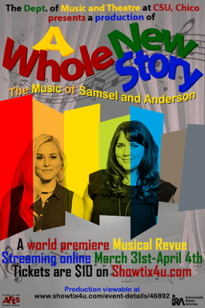 A whole new story flyer