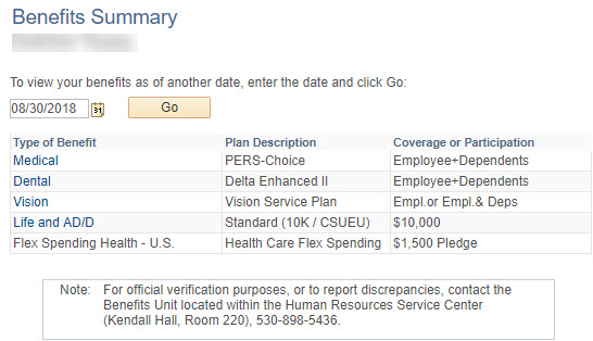 Your Personalized Benefits Portal – Human Resources Service