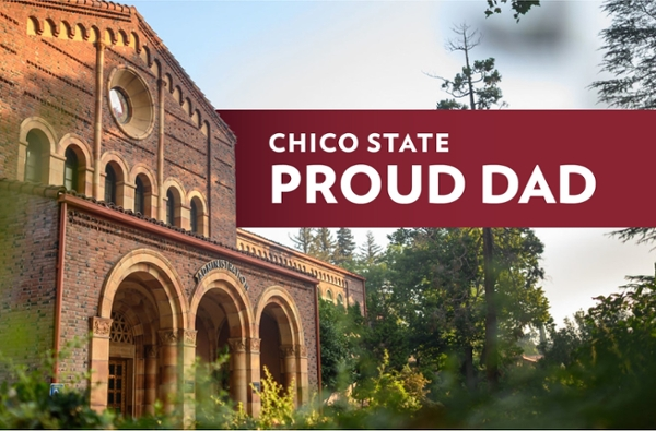 Proud Chico State Dad