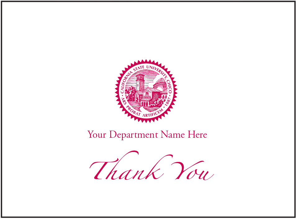 personalized note cards and thank you cards print services csu