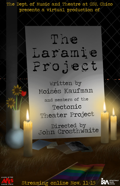 Laramie Project marketing poster