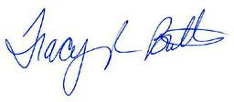tracy butts signature